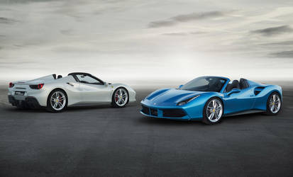2016 Ferrari  | Five Details that Make the Ferarri 488 Spider Go Faster, Look Sexier