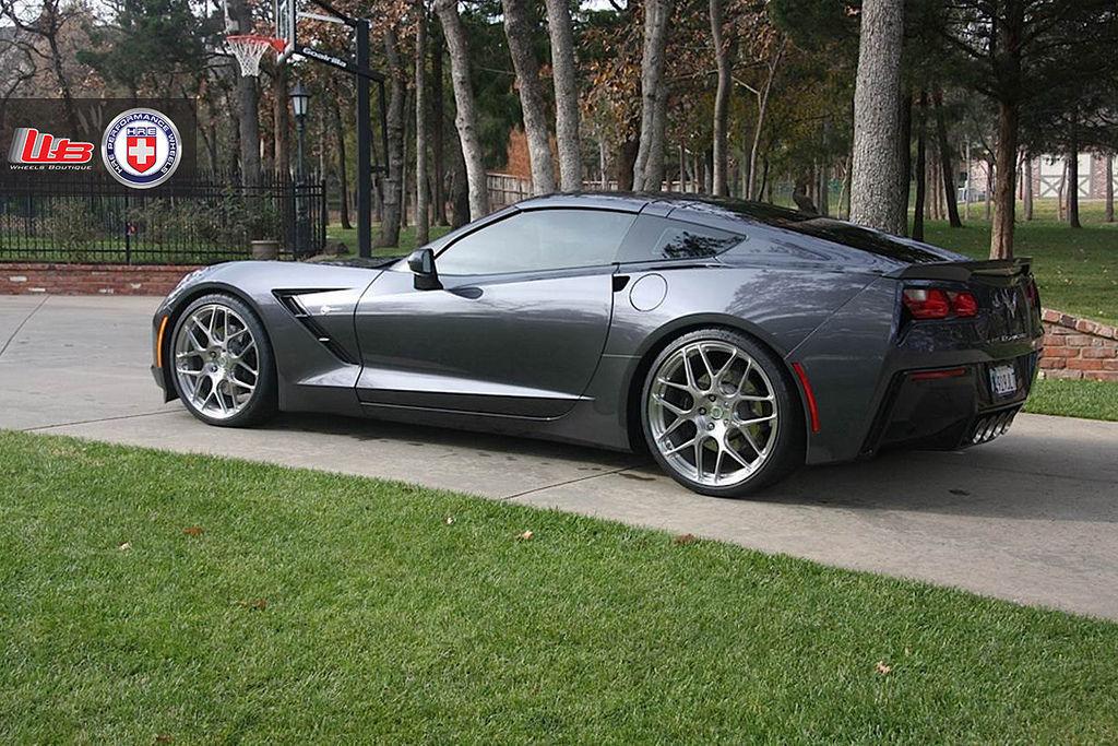 Chevrolet Corvette Stingray | C7 Corvette on HRE P40SC