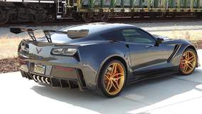 Juan Concepcion's Corvette ZR1 on Forgeline One Piece Forged Monoblock EX1 Wheels