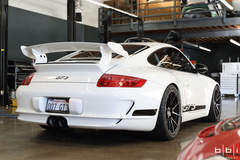 "BBi Autosport's ""Project Bull Dog"" Porsche 997.1 GT3 on Forgeline One Piece Forged Monoblock GA1R Wheels"