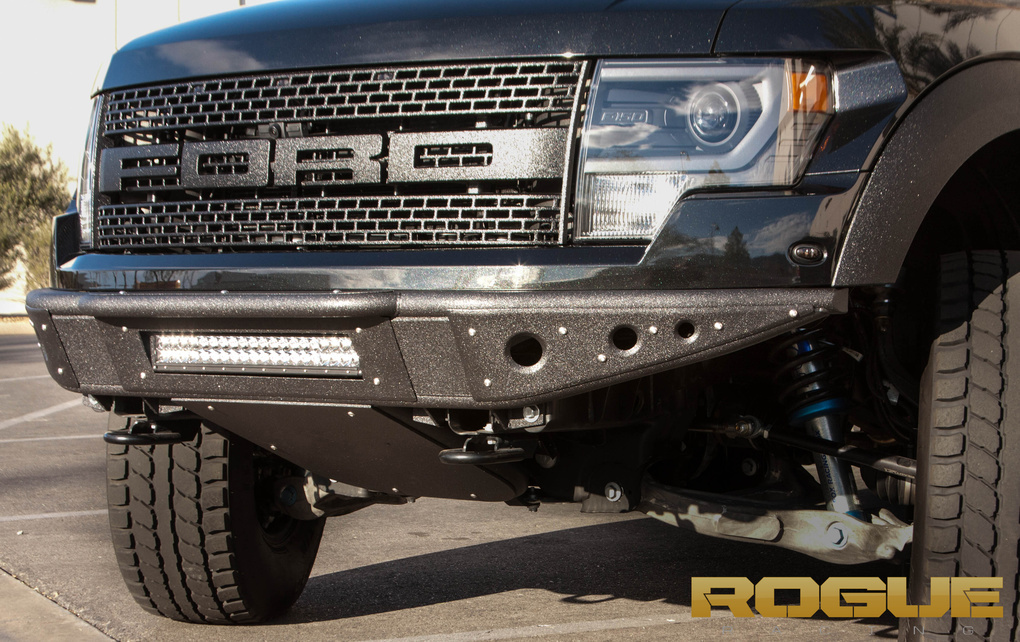 2011 Ford F-150 | Ford Raptor with Rebel bumper