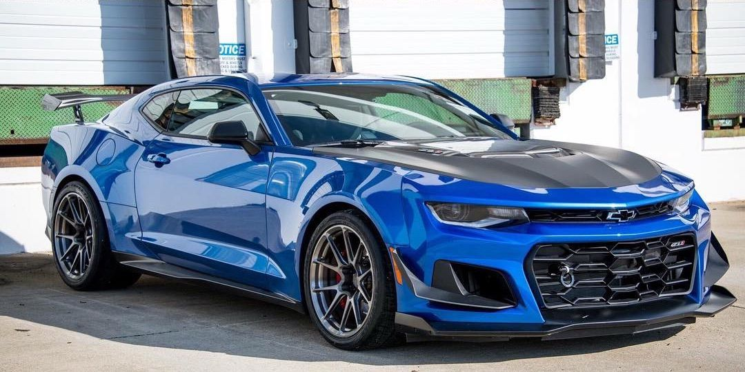 2018 Chevrolet Camaro | Mike Martin's Chevrolet Camaro ZL1 on Forgeline One Piece Forged Monoblock GS1R Wheels