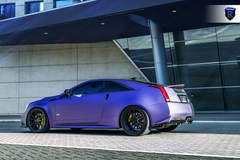 Matte Purple Cadillac CTS-V - Side