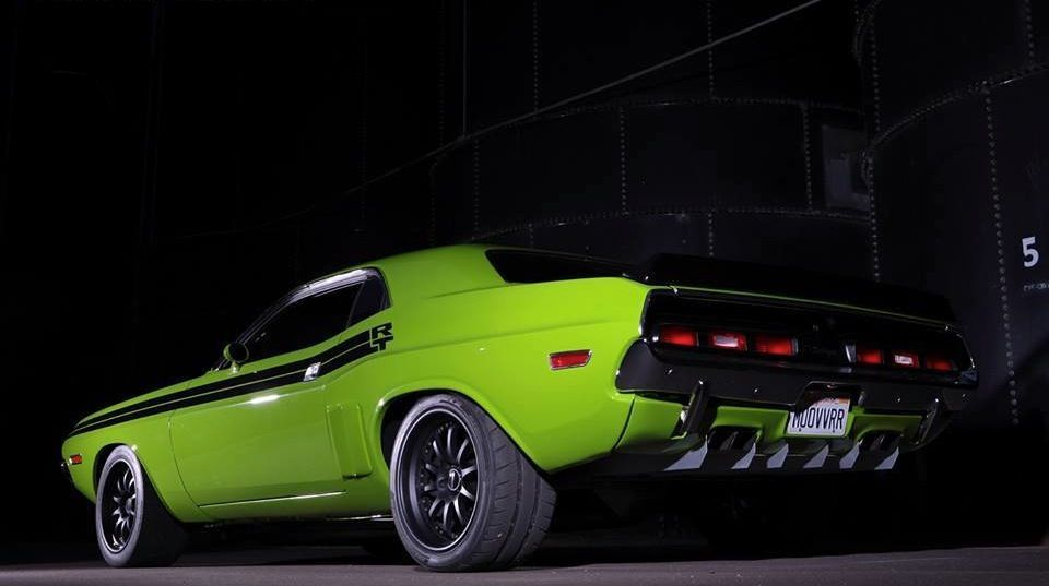 1971 Dodge Challenger | Daniel Niklas' 1971 Dodge Challenger R/T on Forgeline ZX3R Wheels
