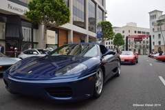 Ferraris Pour into Bevery Hills