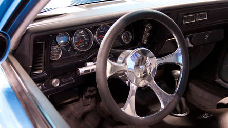Custom Dash Built with Auto Meter Cobalt Gauges
