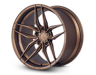 Ferrada F8 FR5 Wheels Matte Bronze (20x9 Front and 20x10.5 Rear)