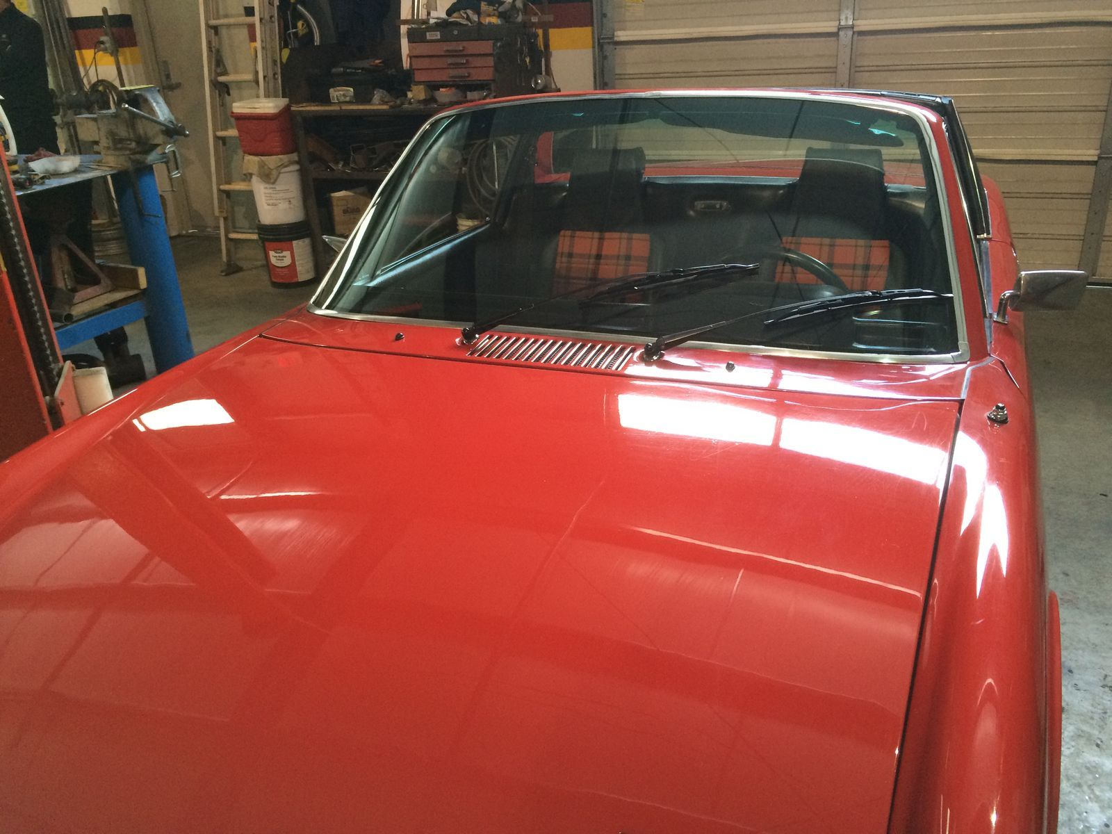 1974 Porsche  | New windshield, chrome and seat inserts