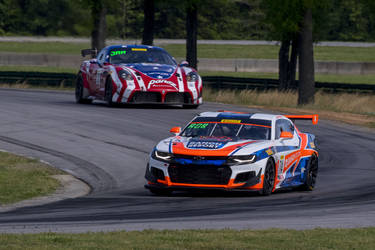 Forgeline Teams Top World Challenge GT4 Podium at VIR