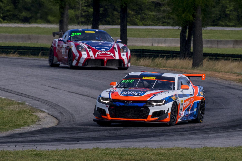 | Forgeline Teams Top World Challenge GT4 Podium at VIR