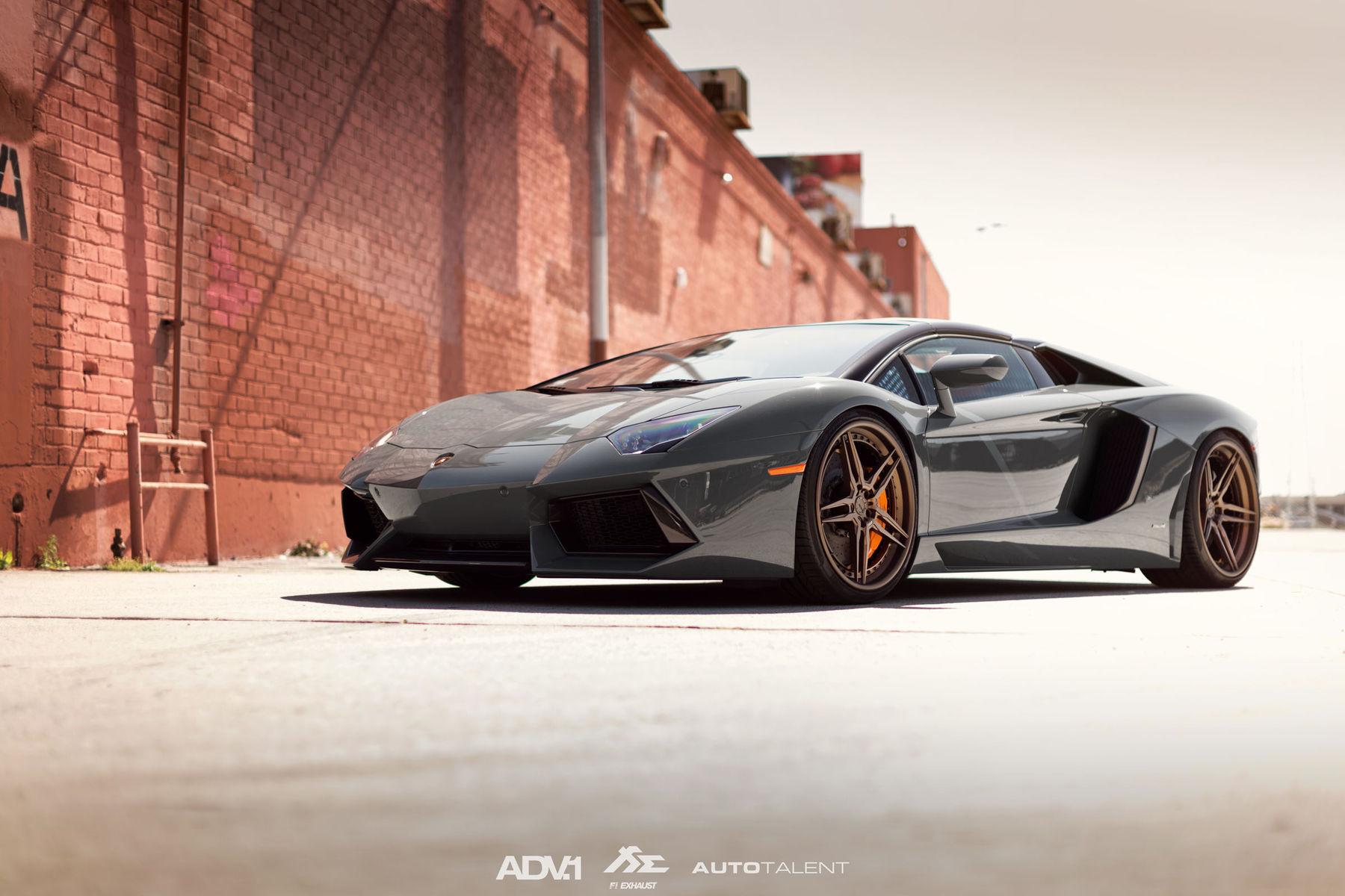 Lamborghini Aventador   ADV.1 Wheels Lamborghini Aventador LP700