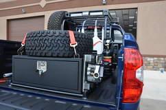 N-FAB TRD PRO Build - Toyota Tundra Cargo Shot