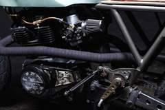 Retro Moto's CM400 Racer