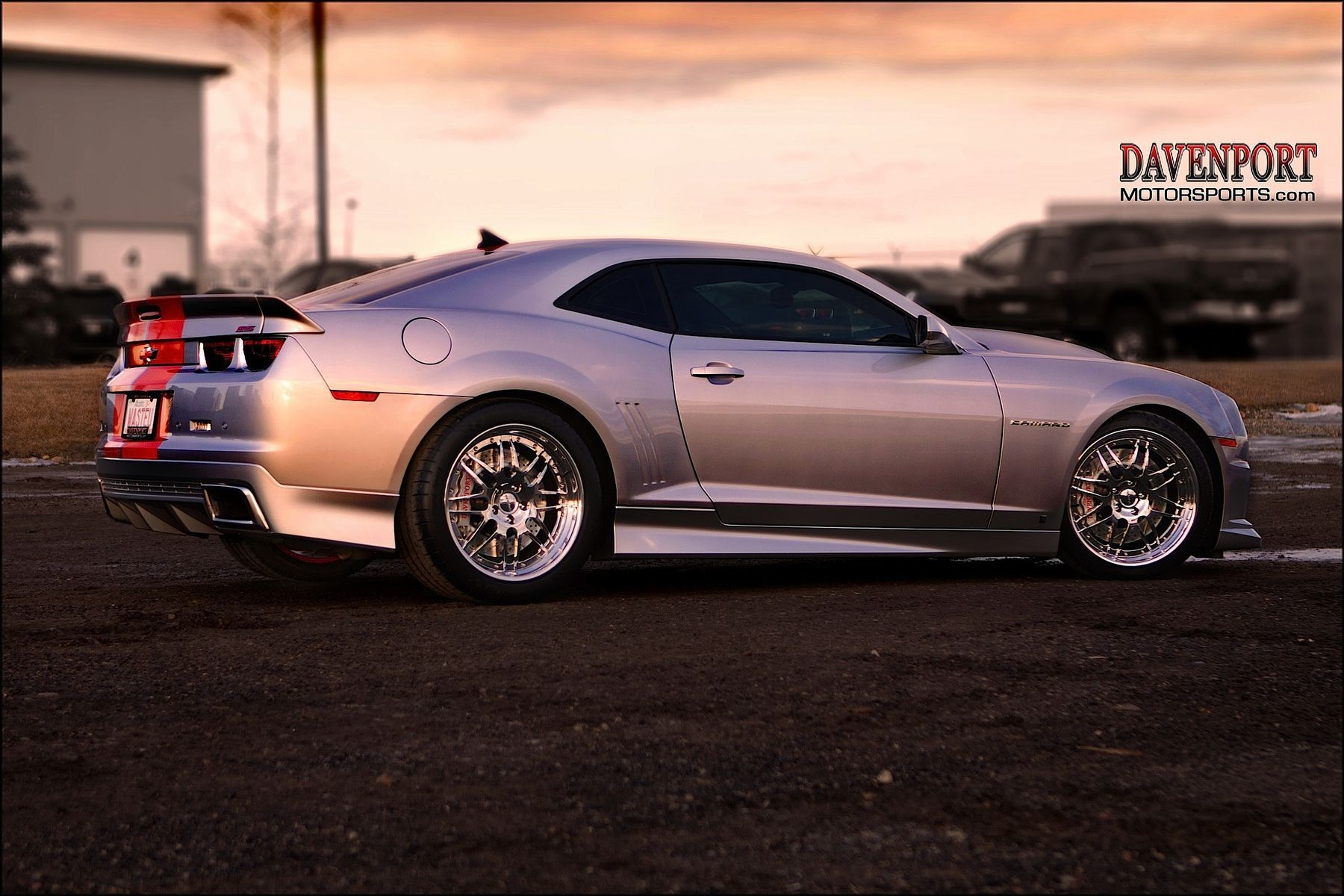 2010 Chevrolet Camaro | Troy Pidherney's Supercharged Camaro on Forgeline DE3S Wheels