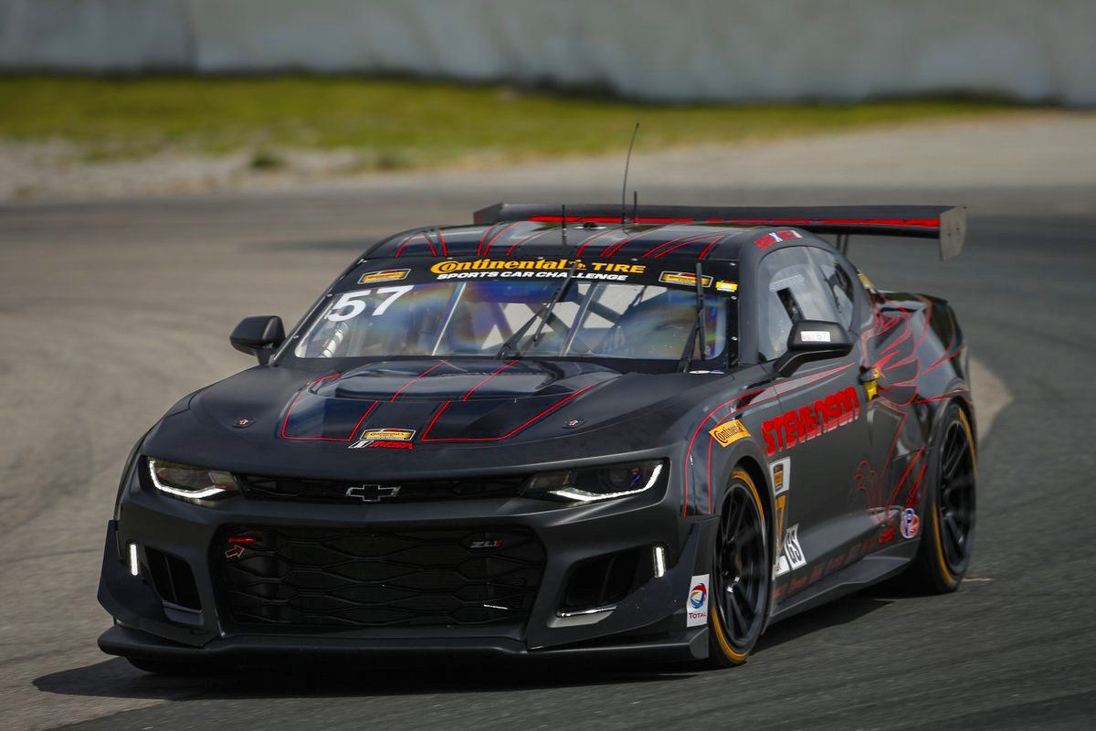 2017 Chevrolet Camaro | Stevenson Motorsports Wins CTSC GS at Canadian Tire Motorsports Park With Their New Camaro GT4.R on Forgeline One Piece Forged Monoblock GS1R Wheels