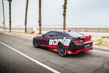 2016 Chevrolet Camaro | Borla Chevrolet Camaro SS - Supercharged - SEMA Build
