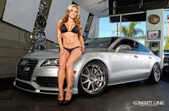 '11 Audi A7 on Concept One CS-10's