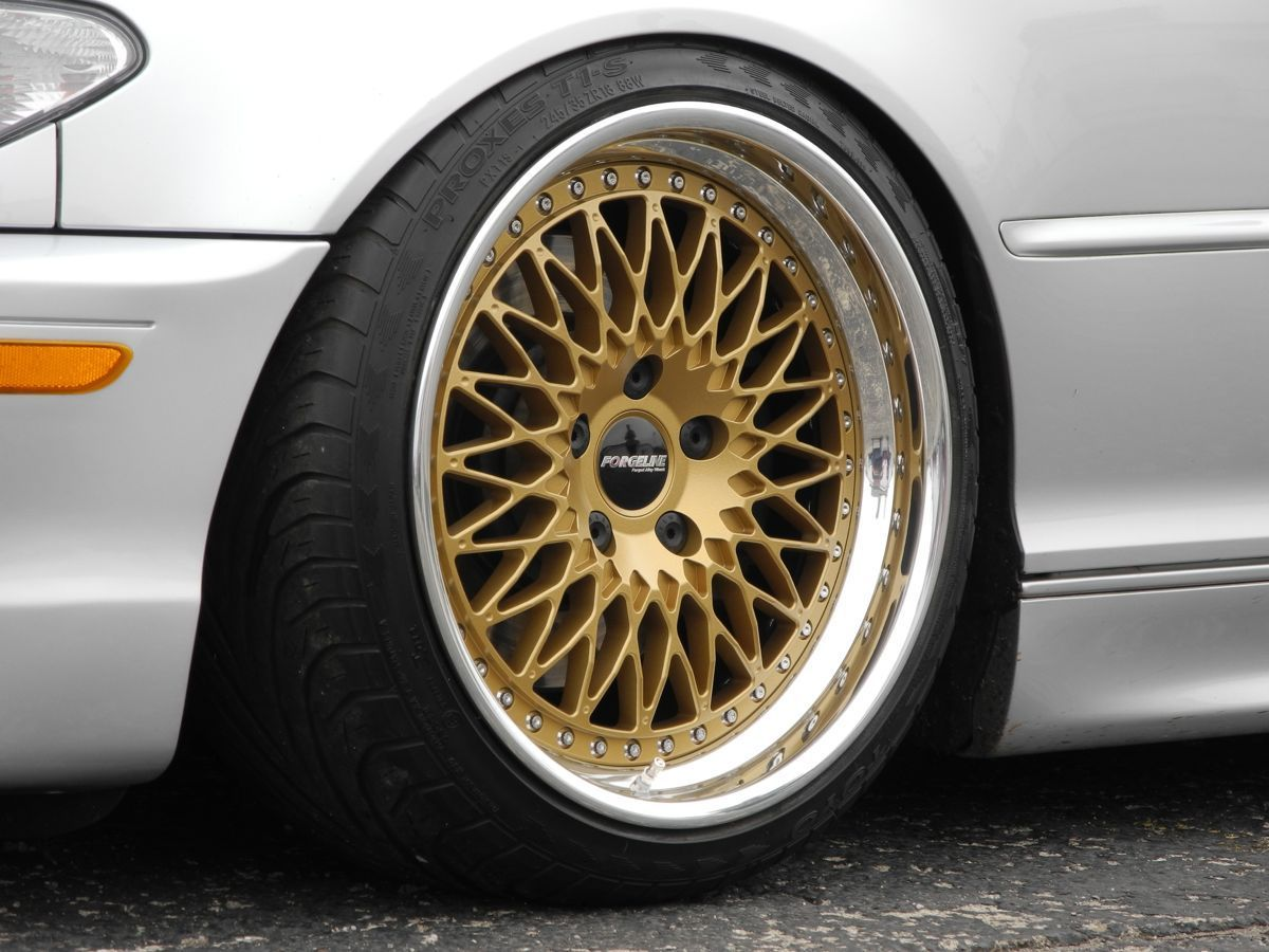 | Forgeline Heritage Series LS3 in Satin Gold