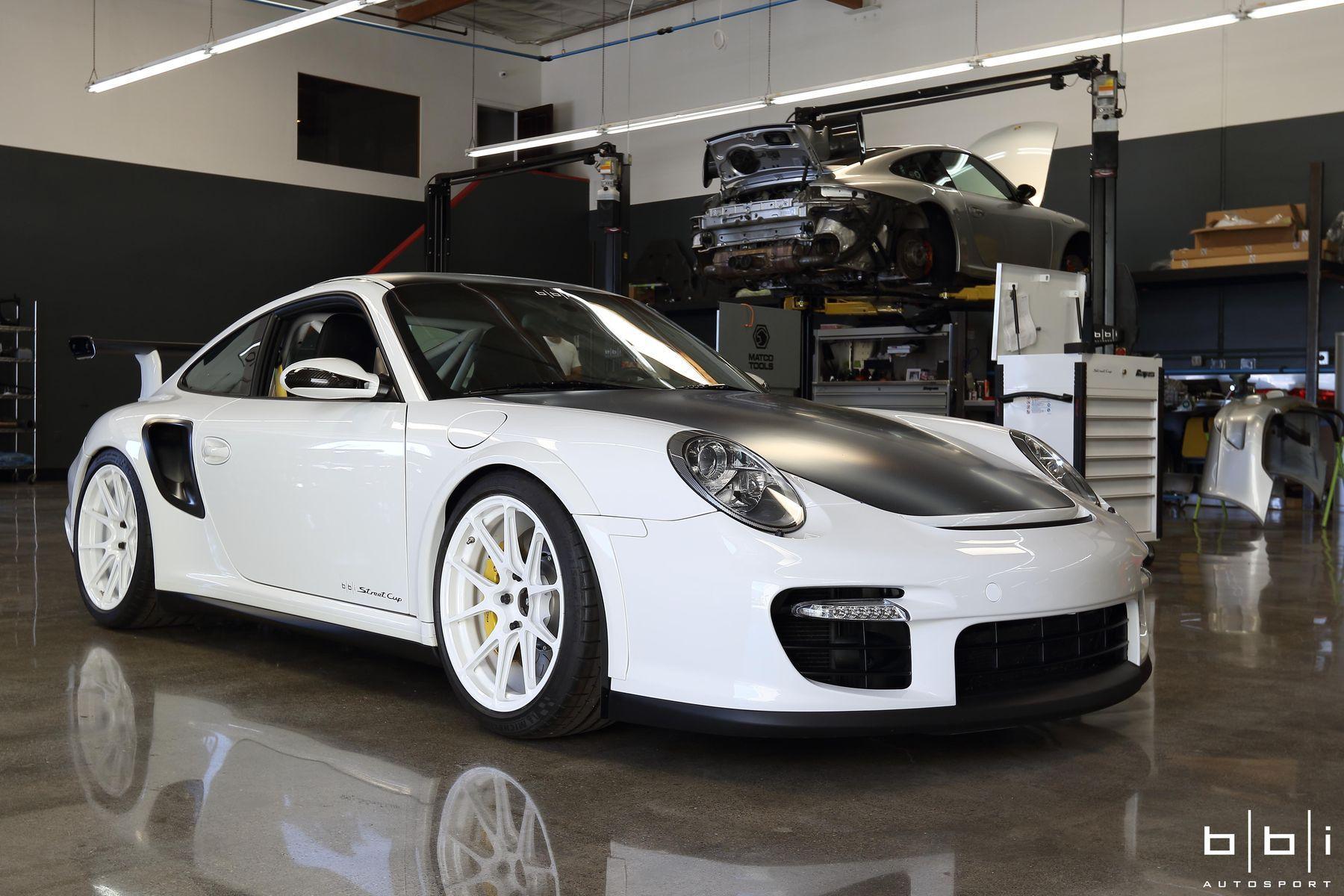 2016 Porsche 911   BBi Autosport's Project Swan Porsche 911 Turbo Wins TUNED Tuner Car Shootout on Forgeline One Piece Forged Monoblock GA1R Open Lug Wheels