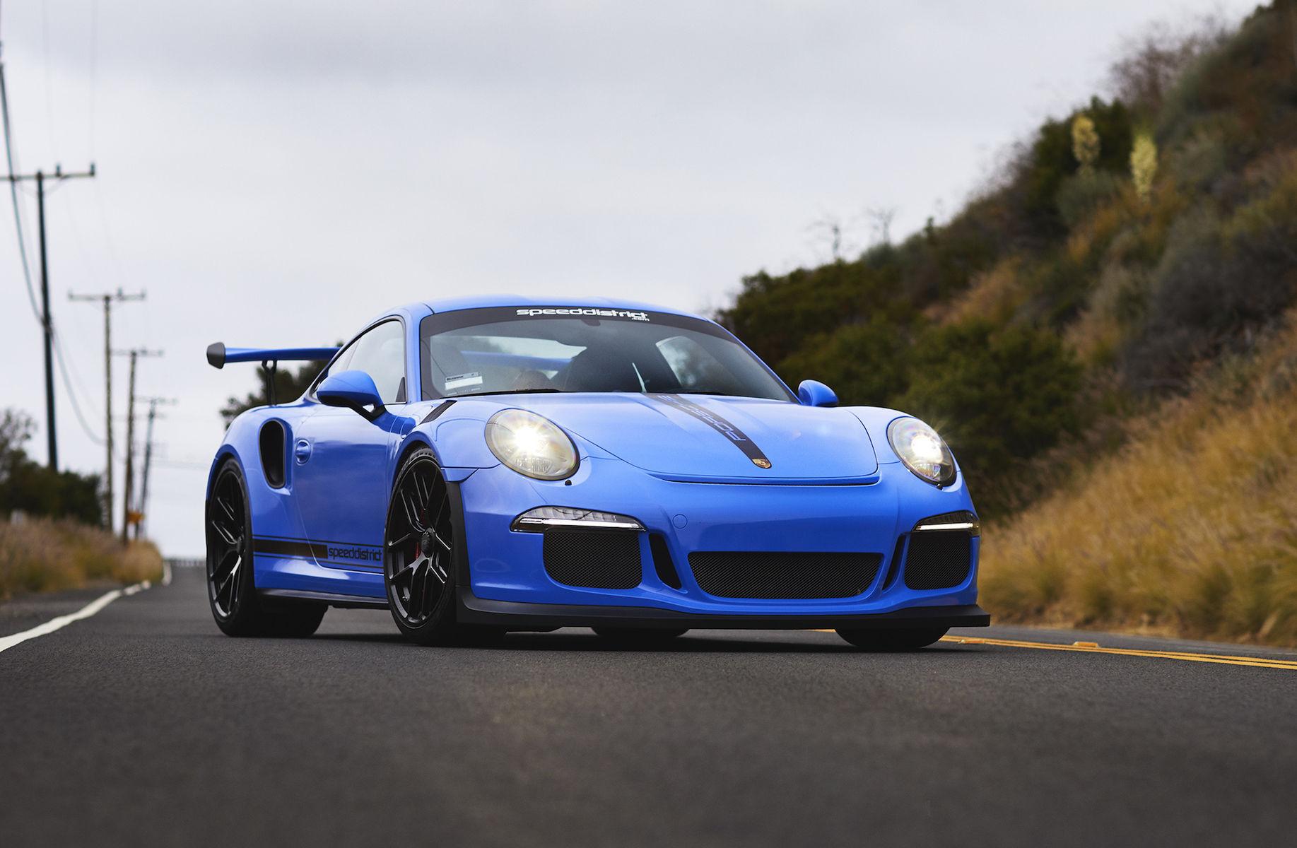 2017 Porsche 911 | Josh Shokri's Speed District Porsche 991 GT3 on Forgeline One Piece Forged Monoblock VX1R Wheels