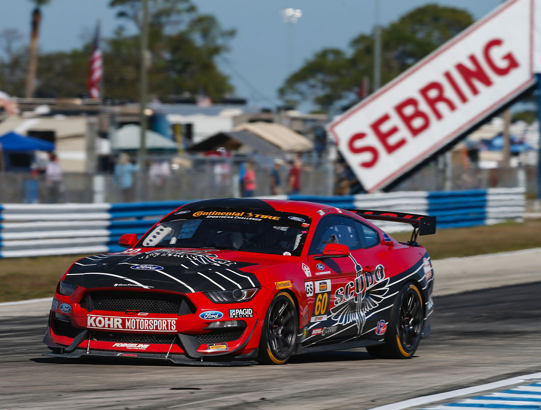 2018 Ford Mustang | Kohr Motorsports Mustang GT4 Wins at Sebring on Forgeline One Piece Forged Monoblock GS1R Wheels