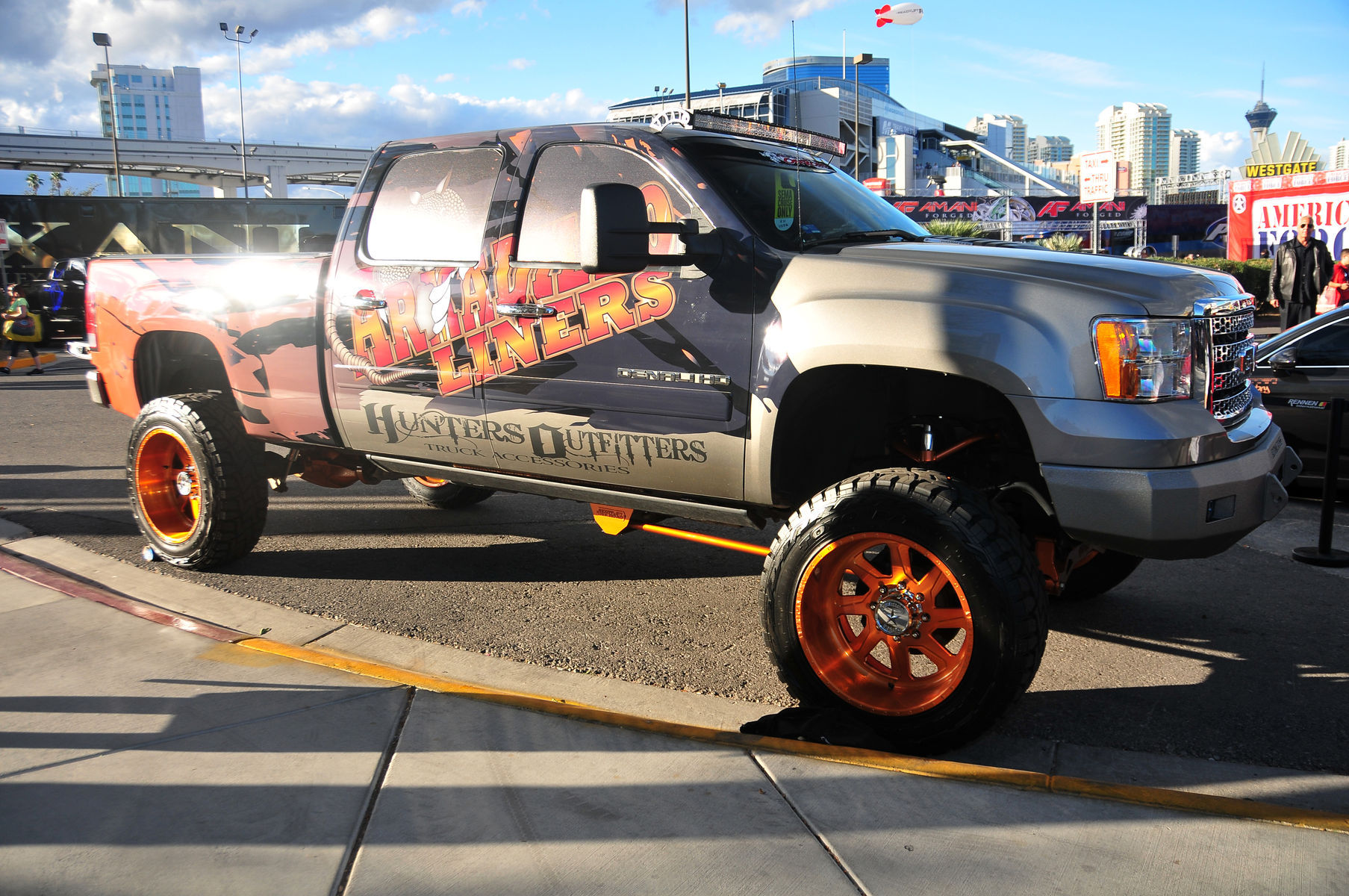 GMC  | American Force Wheels SEMA 2015