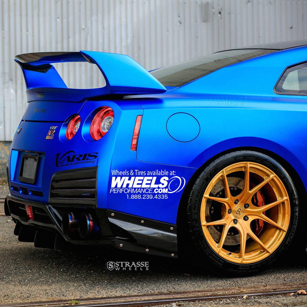 Nissan GT-R   Strasse Forged SM5R
