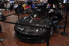 Pagani Zonda @ GoPro Booth at SEMA '13