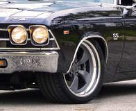 Chevelle SS on Forgeline CR3 Wheels