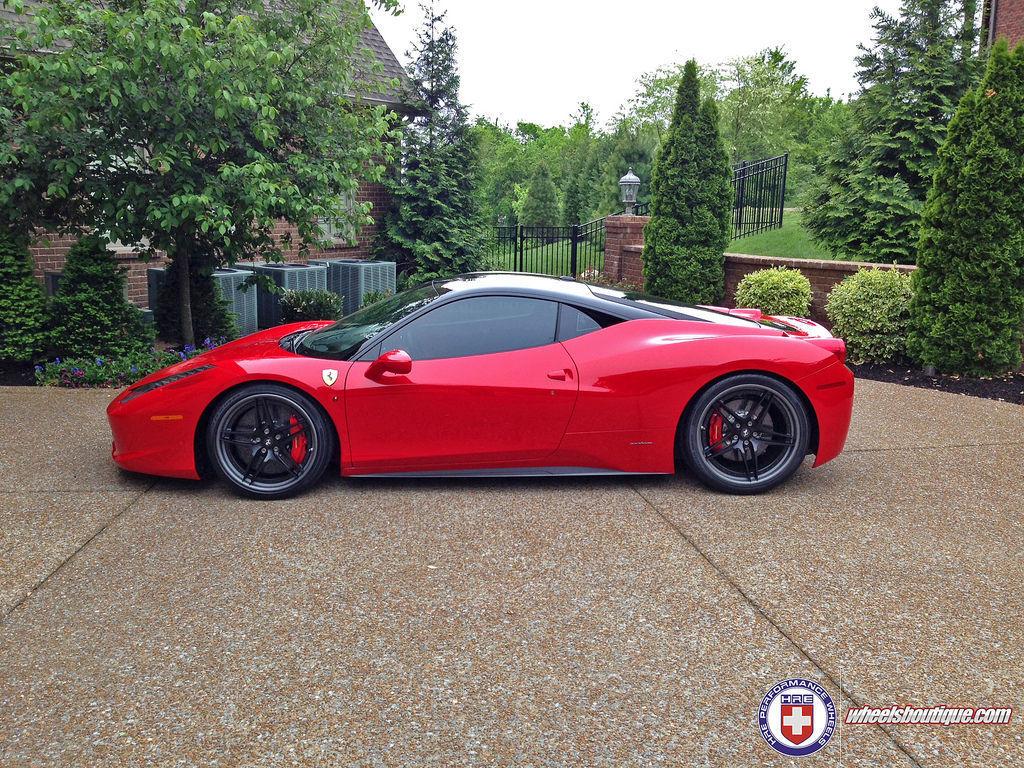 Ferrari 458 Italia | 458 on HRE S107