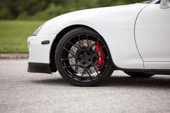 C. Lewis' Titan Motorsports Toyota Supra on Forgeline One Piece Forged Monoblock SE1 Wheels