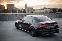 Audi S4 on Vorsteiner V-FF 103 Wheels - Sunset Shot
