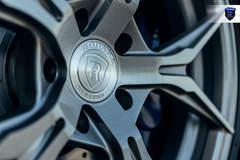 BMW M4 - Silver Aftermarket Wheels