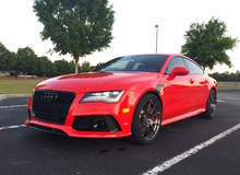 Keith Brantley's 765AWHP APR-Tuned Audi RS7 on Forgeline One Piece Forged Monoblock GA1R Wheels