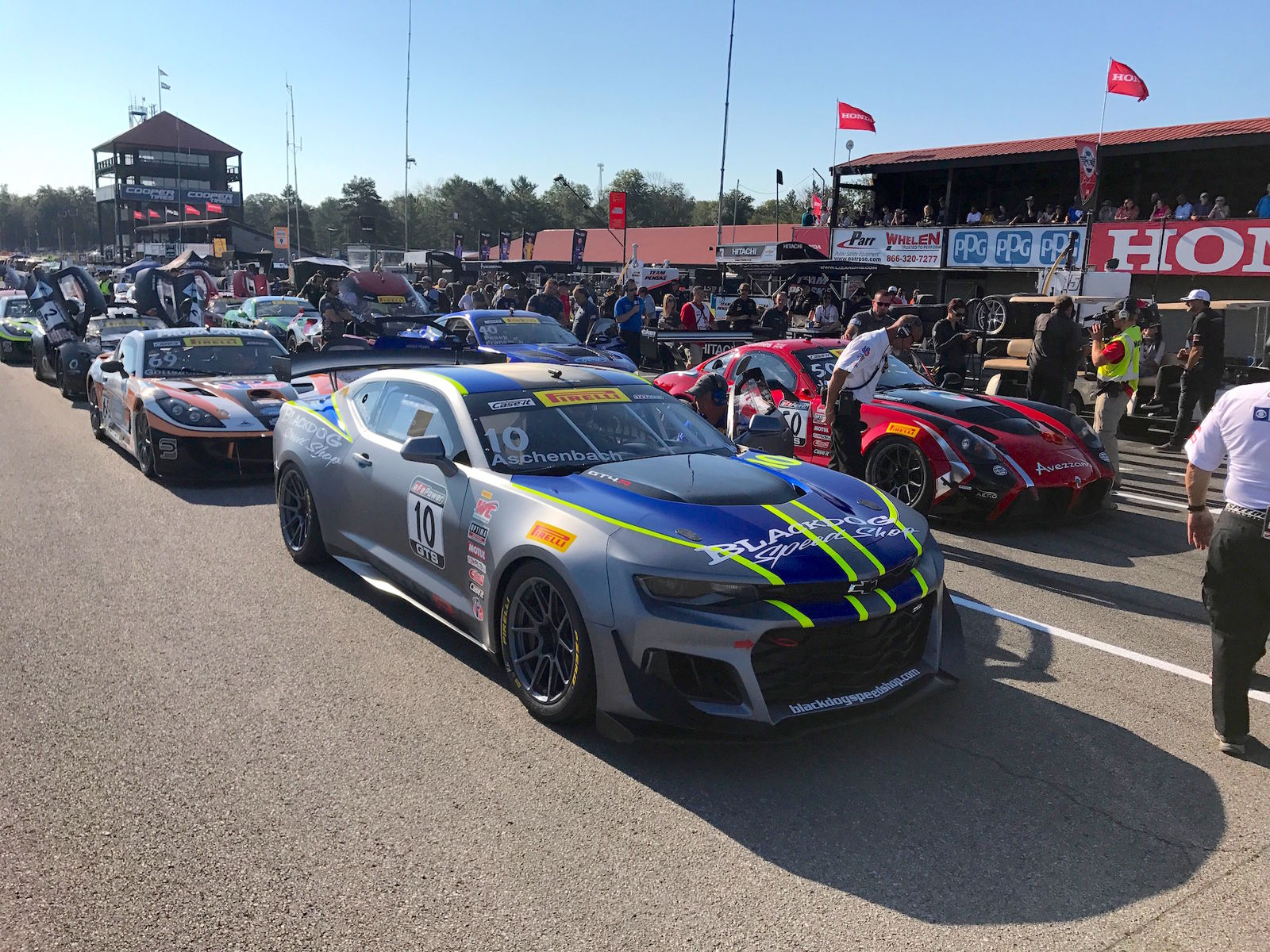 2017 Chevrolet Camaro | Forgeline Teams Top the Pirelli World Challenge Podium at Mid-Ohio