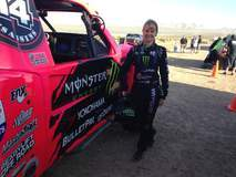Heidi Steele out for a Pre-Run at Mint 400