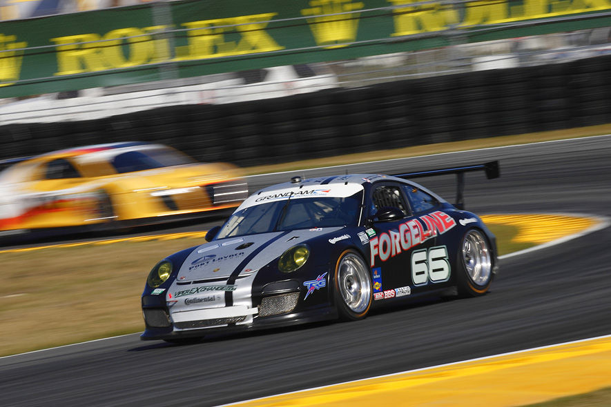 2012 Porsche 911 | Ben Keating Drives the no.66 Forgeline/TRG Porsche to 7th Place at the 2012 Rolex 24 at Daytona