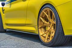 BMW M4 Pair - Gold