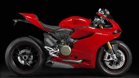 Ducati 1199 Panigale S - Red Model Side Profile