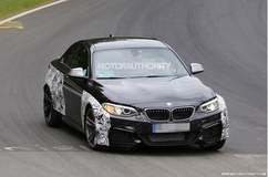 2016 BMW M2 Spy Shots