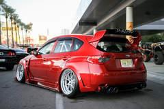 Danny Rosoilo's Subaru WRX STI on Forgeline GA3 Wheels