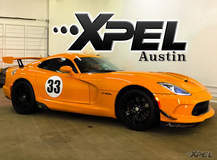 Another great shot of a Dodge Viper with XPEL ULTIMATE