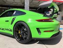 Josh Shokri's Speed District Porsche 991 GT3RS on Forgeline One Piece Forged Monoblock VX1R Wheels