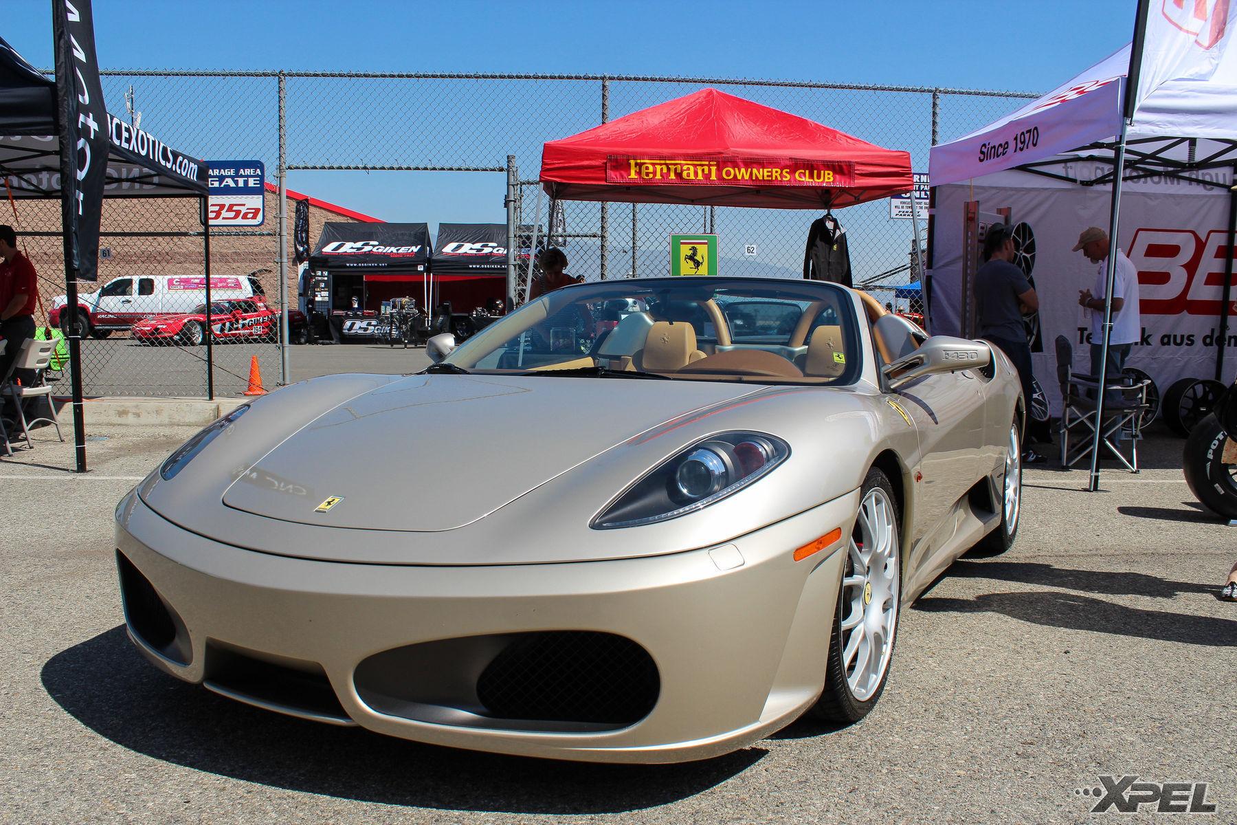 | Nice looking Ferrari at the Ferrari Owners Club tent