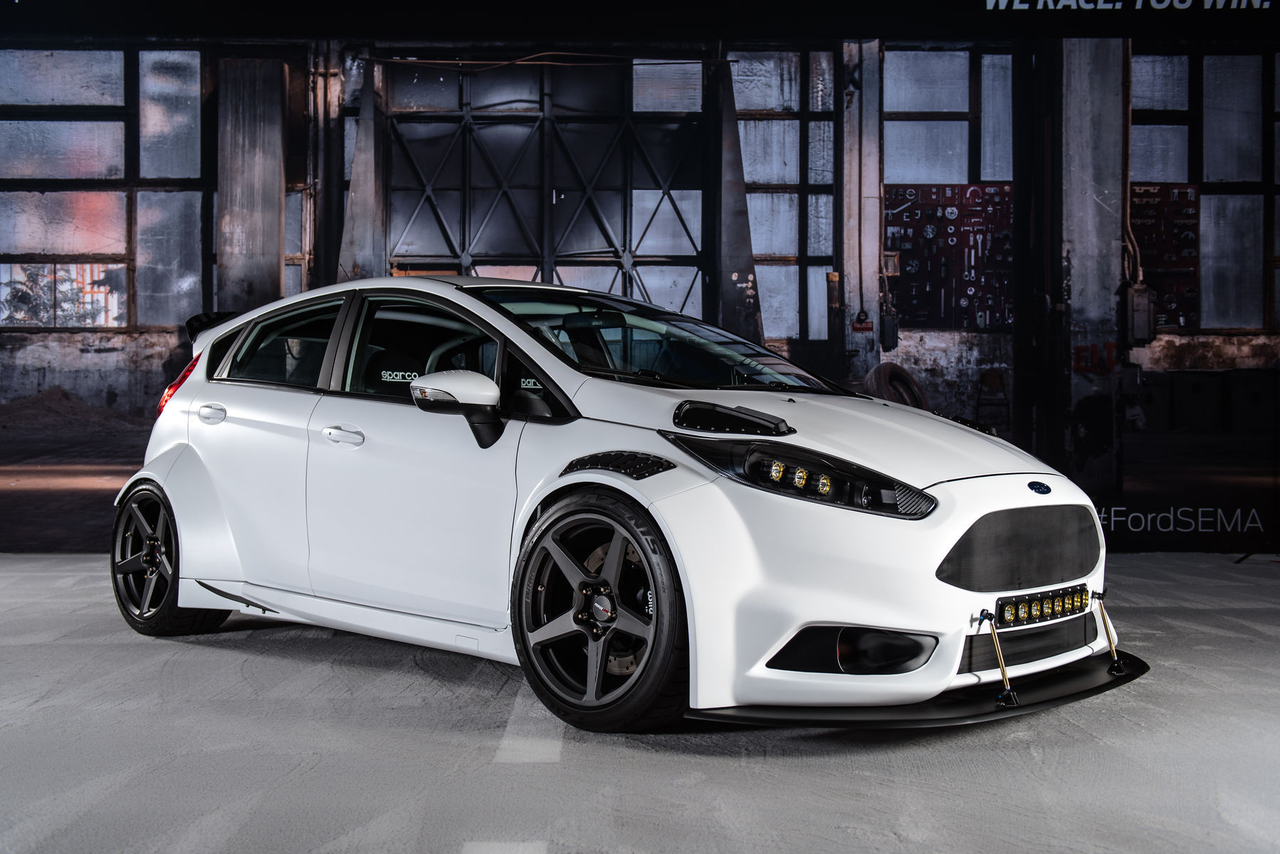 2016 ford fiesta st 2016 ford fiesta st by tucci hot rods passenger side