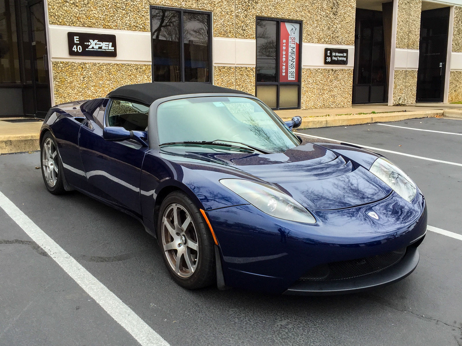 Tesla Roadster | XPEL Austin protecting this beautiful car with XPEL ULTIMATE