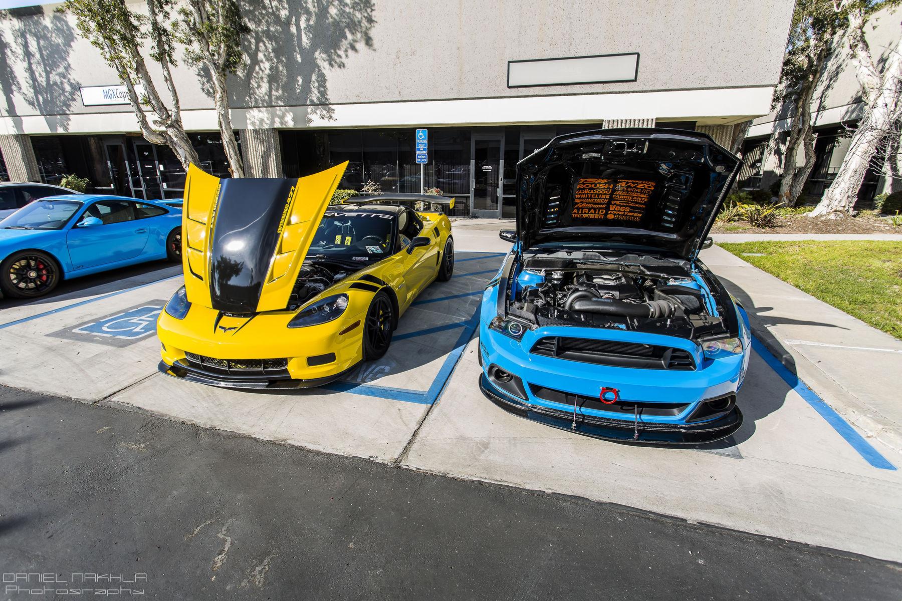 2008 Chevrolet Corvette Z06 | San Diego Cars & Coffee February 13th, 2016