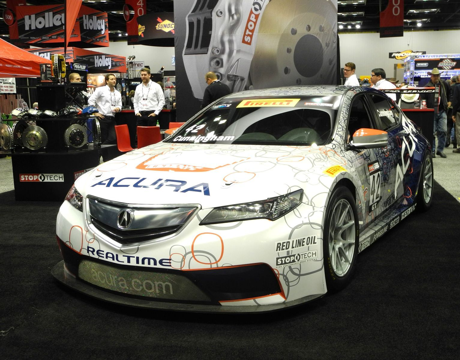 2015 Acura TLX | RealTime Racing Acura TLX GT on Forgeline GA1R Open Lug Wheels
