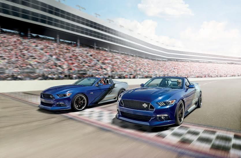 2015 Ford Mustang | Neiman Marcus Limited Edition Mustang Convertible on Grip Equipped Grudge Wheels