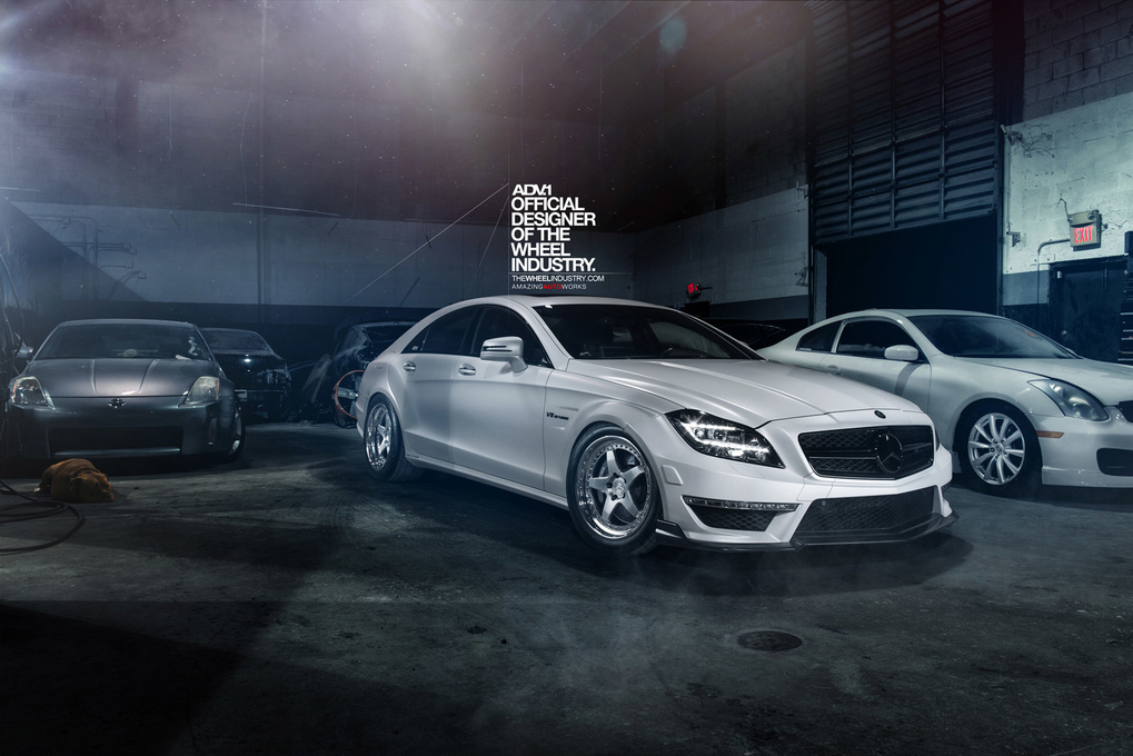 2014 Mercedes-Benz CLS-Class   '14 Mercedes-Benz CLS63 on ADV.1's